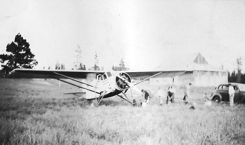 Stinson Jr SM-2 Airplane